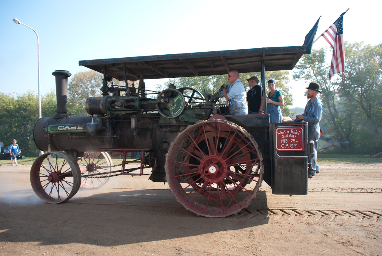 The 75 out for a morning run at the 2009 show